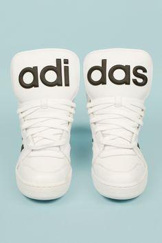 Jeremy Scott x Adidas Instinct High-Top Sneakers Adidas Shoes Outlet, Sneakers Adidas, Shoes Sneakers, Jeremy Scott, Crazy Shoes, Me Too Shoes, Sneakers Fashion, Fashion Shoes, Fashion Models