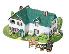 ANNE OF GREEN GABLES 3D Puzzle- Great unique GIFT. Exclusive offer