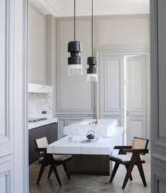 Joseph Dirand's Saint Germain Hôtel particulier Interiors