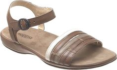 KEEN Emerald City Ankle 2 Brown Leather Comfort Walking Sandals Womens Size 10 #KEEN #AnkleStrap