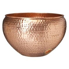Color Cobre - Copper!!!  Smith & Hawken® Premium Quality Eden Park™ Copper Hose Bowl