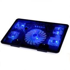Find More Fans Information about Notebook Laptop cooling pads 5 Fans Laptop…