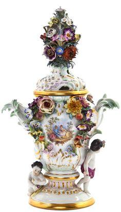 Meissen Porcelain Manufactory (Germany) — Potpourri, (570x1000)