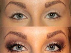 White eye liner.