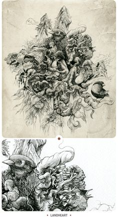 Olivier DZO - INKSTINCTIVE II on Behance