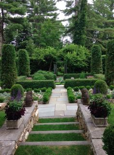 "Bunny Williams beautiful garden, Mark D. Sikes this is her home from ""An Affair with a House"""