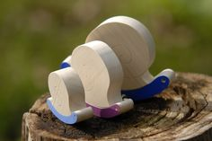 A Tale of Three Snails, Story Game, Handmade Wooden Toys, Imagination Game, FREE Shipping in Israel. $46.00, via Etsy.