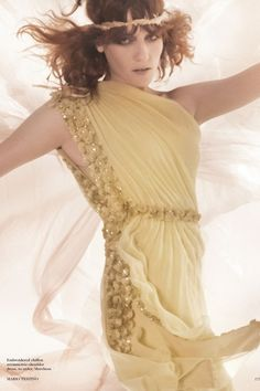 Florence Welch by Mario Testino for Vogue UK January 2012