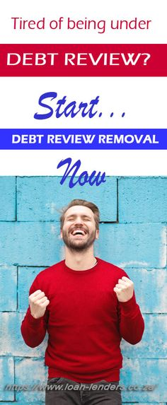 Get out of Debt Review by starting the Debt Removal Process... #debt