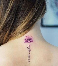 Frase: Fortune y Flor - Tatuajes para Mujeres. Encuentra esta muchas ideas mas de Tattoos. Miles de imágenes y fotos día a día. Seguinos en Facebook.com/TatuajesParaMujeres!