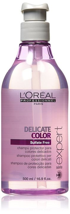 L'oreal Serie Expert Delicate Color Shampoo for Unisex, 16.9 Ounce -- To view further for this article, visit the image link. #hairnourishing
