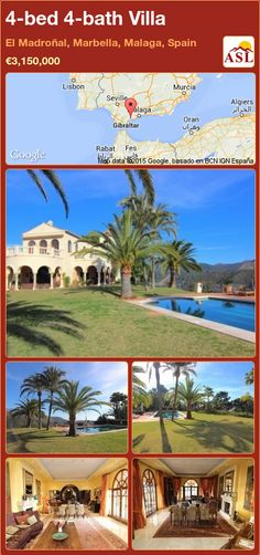 4-bed 4-bath Villa in El Madroñal, Marbella, Malaga, Spain ►€3,150,000 #PropertyForSaleInSpain
