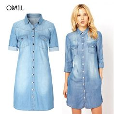 The material is very important to good jeanswear. #Denim #Dress #Jeans #Casual