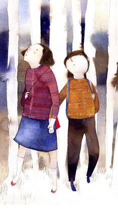 tierra de hojas/ Hansel y Gretel, Isabel Hojas