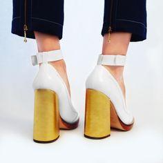 The heel 💫 Karen Walker 'Star City' shoes are in store and online now - karenwalker.com #KWStarCity