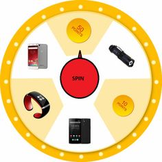 GearBest March Markdown Event: Spin the wheel and win