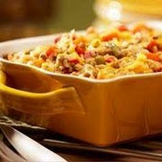 Vegetarian Brown Rice Casserole