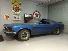"pinterest.com/fra411 #cars - ""Barn find"" 1969 Mustang Boss 302"