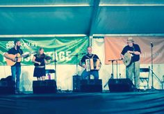 The Dublin, OH, Irish fest, largest 3 day Irish fest on the planet !  The Irish Roots Cafe house band played the Ceili Tent on Fri. and Sat. in 2014 !