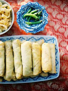 Thai Spring Rolls Recipe.
