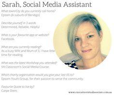 Meet Sarah, EVA Social Media Assistant