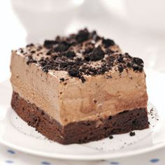 Frozen Chocolate Mint Dessert Recipe