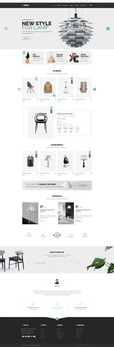 best of ecommerce themes for 2016 design top web design pinterest ecommerce website and e commerce best furniture websites design