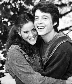 Ally Sheedy (Allison in The Breakfast Club) and Matthew Broderick 80s Movies, Movie Stars, Movie Tv, Iconic Movies, Brat Pack, Image Film, Cinema, Portraits, The Breakfast Club