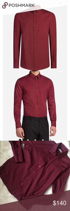 Dolce and Gabbana Stretch Poplin Cotton Shirt Preowned in great condition Dolce & Gabbana Shirts Casual Button Down Shirts