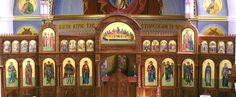 Orthodox Iconostasis | Saint George Greek Orthodox Cathedral Iconostasis