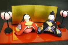 Dolls' Festival wisteria dragon Imperial prince young bird March 3 is Girl's Festival ♪ 1-455
