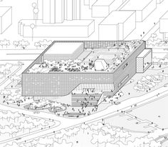 How Architecture Is Born: 7 Parallel Perspectives by OPEN Architecture and the Buildings They Helped to Shape