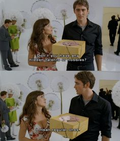 Pushing Daisies. The most beautiful show. Sooo dark in content but so bright in appearance. <3