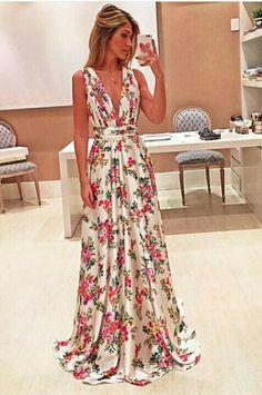 #vestido #estampado #florido #festa #madrinhab #casamento