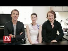 Outlander! Caitriona Balfe, Sam Heughan and Tobias Menzies confess all! - YouTube