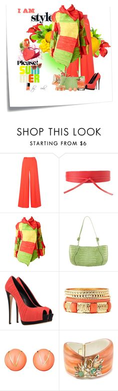 """""""Please Hurry Summer...Happy Belated Birthday, Lisa and Lorene!"""" by eula-eldridge-tolliver ❤ liked on Polyvore featuring Post-It, Milly, MANGO, Issey Miyake, Nancy Gonzalez, Giuseppe Zanotti, Charlotte Russe, Ciner, Alexis Bittar and Thierry Lasry"""