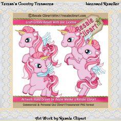 Little Pink Pegasus #Pony #Clipart