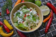 """Search for """"raejuusto"""" Guacamole, Mexican, Salad, Ethnic Recipes, Food, Eten, Salads, Meals, Lettuce"""