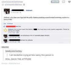 Roll back the attitude