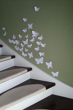 Schmetterlinge im Treppenhaus #Butterfly