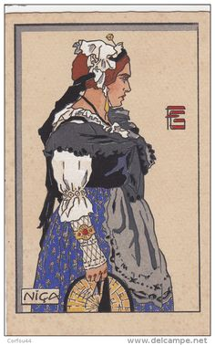 Jeune femme de Nice