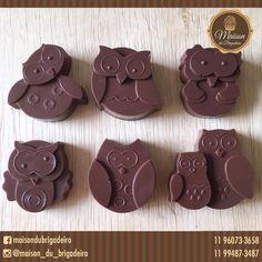 ✨ Corujinhas de chocolate ao leite ✨ Para informações contato@maisondubrigadeiro.com