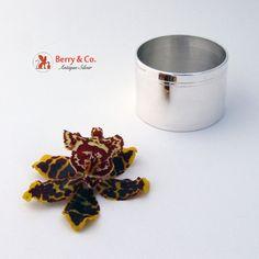 Napkin Ring Tiffany and Company Sterling Silver No Monogram