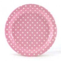 Party Plates: Pink Dots