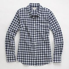 J.Crew Factory - Factory classic button-down shirt in gingham