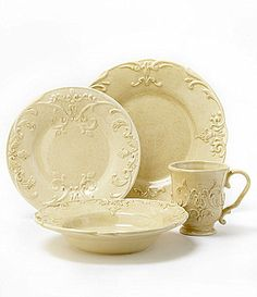 "Daniel Cremieux Home ""Provence"" Dinnerware        $6.00-$50.00"