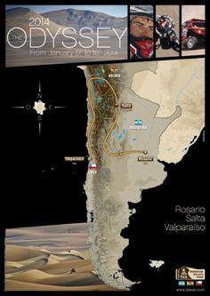 Bolivia, en el recorrido del Dakar 2014, junto a Argentina y Chile