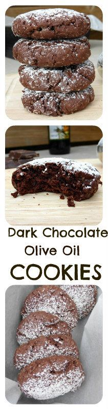 Great cookies don't need tons of butter. Olive oil works just as well, and is healthier for you. These cookies were surprisingly good with less sugar, making them the perfect coffee break snack!