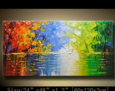 Abstract Wall Painting expressionism Textured by xiangwuchen