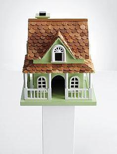 trim up birdhouse